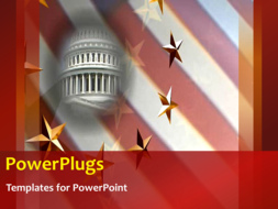 PowerPoint Template - American Whitehouse